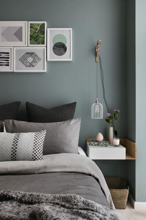 Wit this Scandinavian bedroom, your Scandinavian home decor will look dazzling!