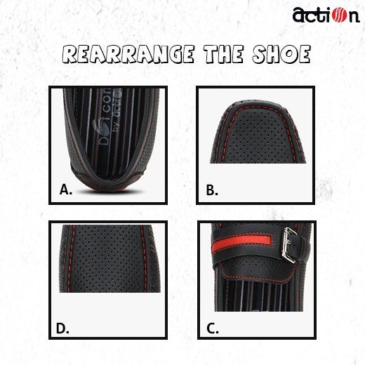 Can you rearrange this #shoe in its right order?