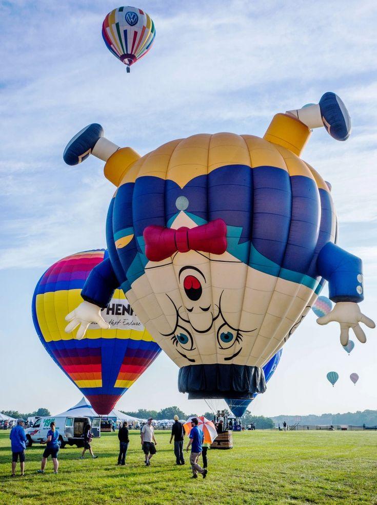 NJ Hot Air Balloon Festival jigsaw puzzle in Aviation