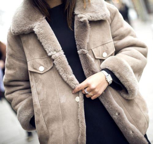 Peau lainée