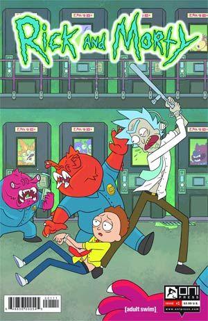#RickAndMorty #1 Cover A Regular Ryan Hill Cover - Midtown Comics
