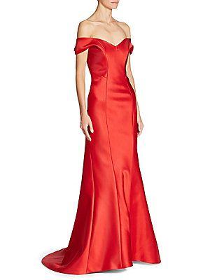 ANNA MAIER Sydney Off The Shoulder Gown
