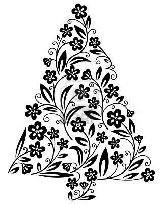 §§§ : black & white tree