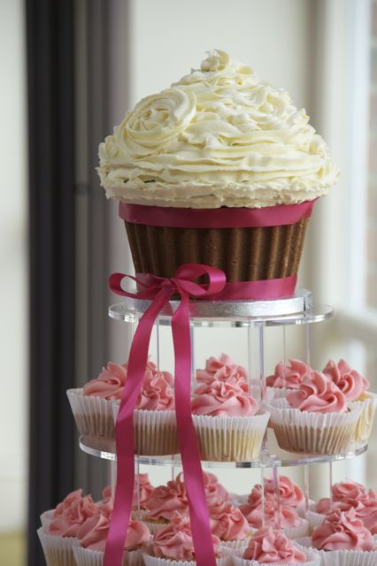 66 Best Images About Giant Cupcakes On Pinterest