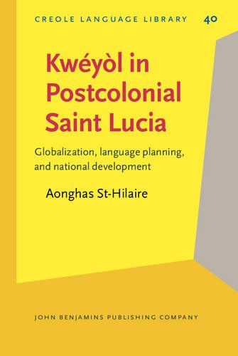 Kwéyòl in Postcolonial Saint Lucia: Globalization, language planning, and national development (Creole Language Library) by Aonghas St-Hilaire http://www.amazon.com/dp/9027252629/ref=cm_sw_r_pi_dp_c4Qnwb19Y13KQ