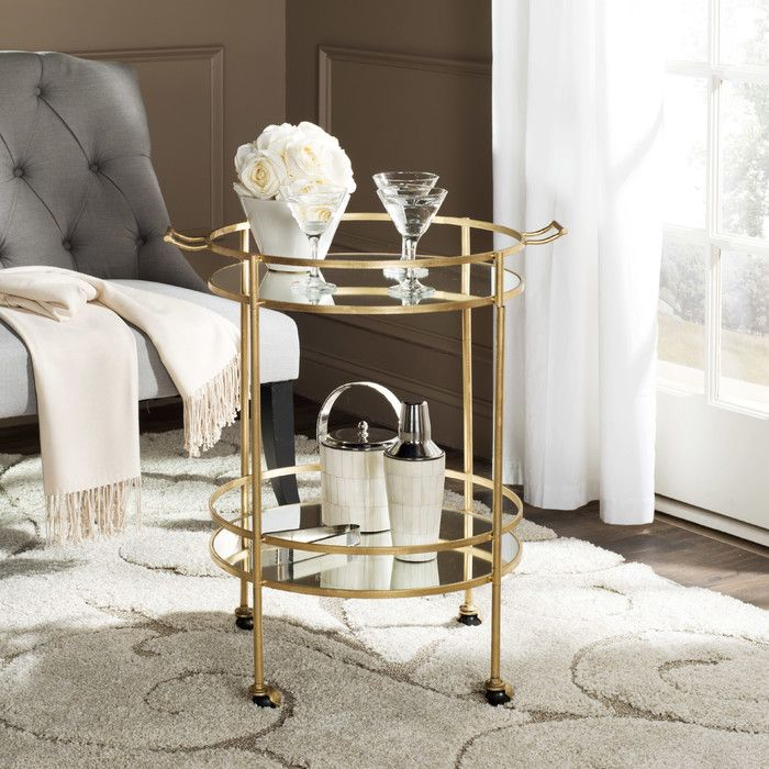 You'll love the Amara Mirrored Serving Cart at Joss & Main - With Great Deals on all products and Free Shipping on most stuff, even the big stuff.