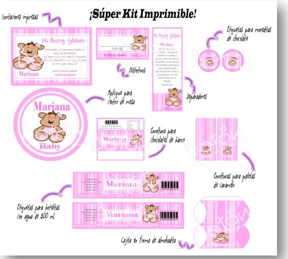 Ms de 25 ideas increbles sobre Tarjetitas para baby shower en