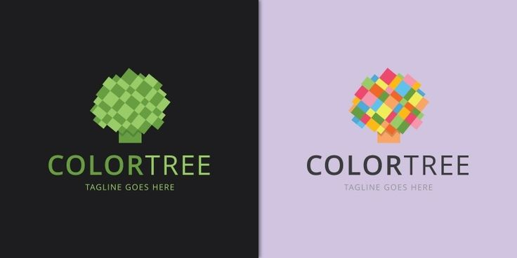 Color Tree - Logo Template