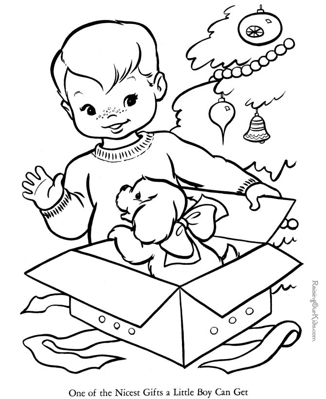 Bible Printables Santa Christmas Coloring Pages