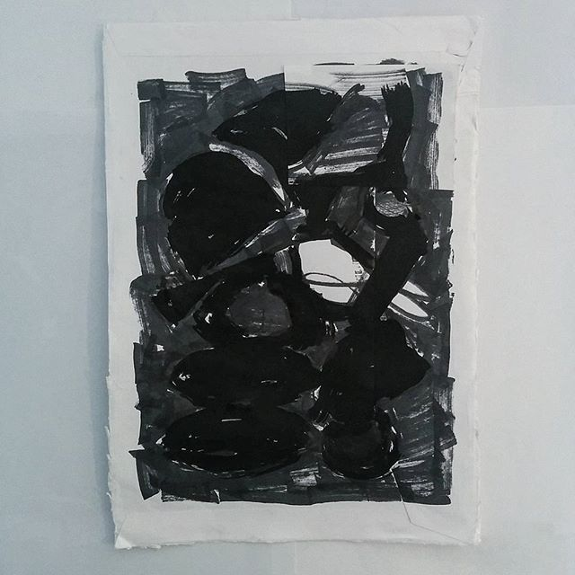 #inktober 29 - abstract ink drawing by artist David Andrews.  (#abstract #ink #drawing #blackandwhite #black #marker #pen #markers #inktober2016)