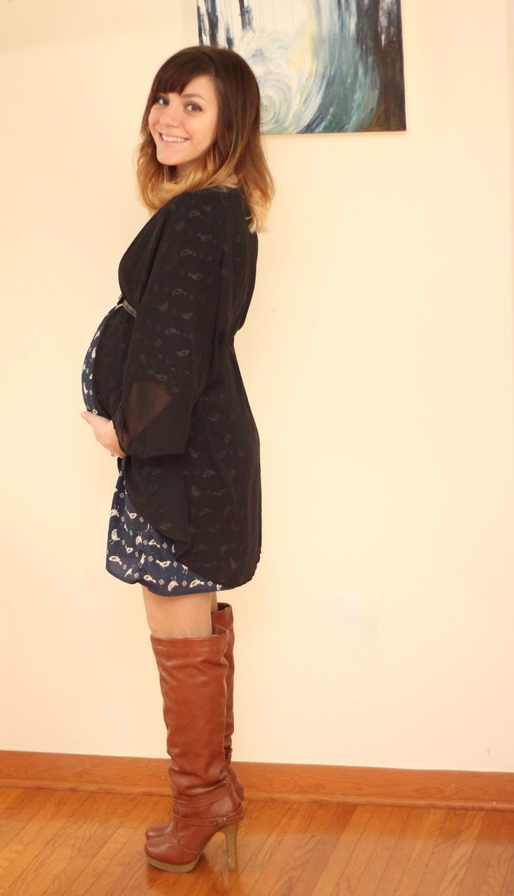 Pregnancy style, how to dress while pregnant, cute ...