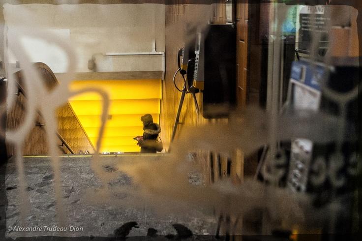 "500px / Photo ""Metro entrance"" by Alexandre Trudeau-Dion"