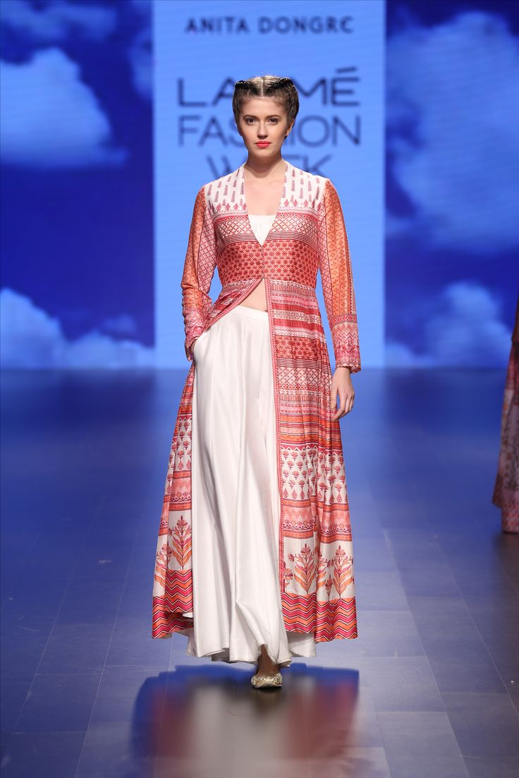 Anita Dongre at Lakme Fashion Week - Spring Summer 2016 #Rajasthan #Inspiration #LoveNotesByAnitaDongre