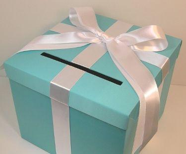Cofres para regalos de sobre en una Boda