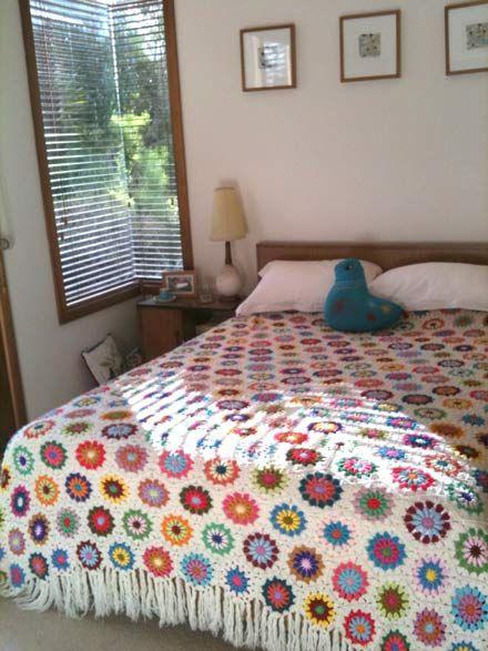 153 best ༺✿༻Crochet/Knitting Bedspread༺✿༻ images on Pinterest ...