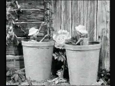The Flower Pot Men (1953 cartoon intro) - YouTube