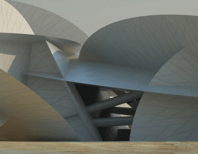 Jean Nouvel national museum of Qatar