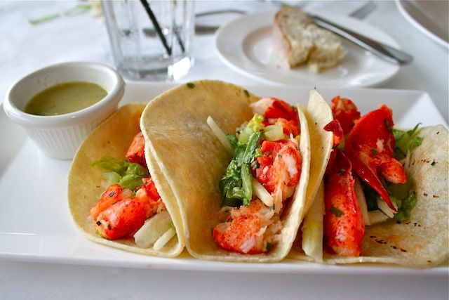 lobster tacos Bud and Alley's #Seaside