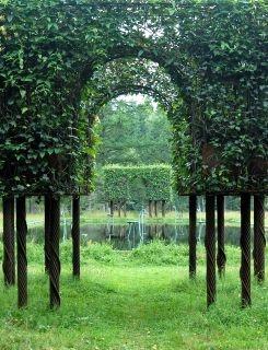 Tage Andersens' garden in Sweden.