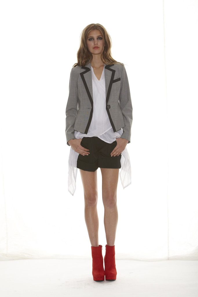 Taylor 'Shadow' Collection, Summer 12/13 www.taylorboutique.co.nz Destination Jacket - Check