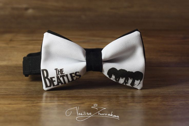 The Beatles Bowtie Bowties, Bows, Bow Ties, Bowties, Bow Ties, Bow Ties, BowTie, Creative bow tie, Funny bow tie, Designer bowtie by BowTiesFactory on Etsy https://www.etsy.com/listing/491766355/the-beatles-bowtie-bowties-bows-bow-ties