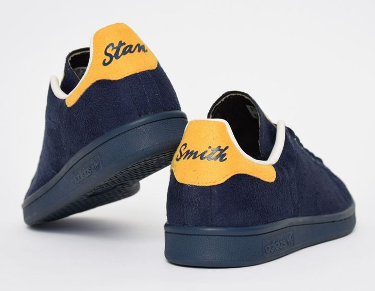 Stan Smith Jaune Et Bleu