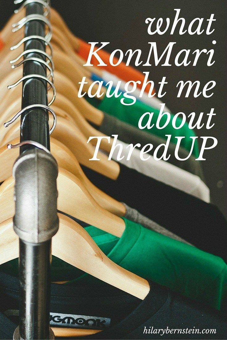 I LOVE getting free clothes through ThredUP's referral credits! Interesting how the KonMari method can make me appreciate ThredUP even more ...