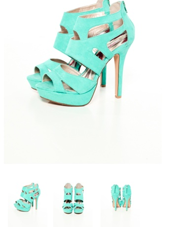 Loving colored heels right now for SB '12 !!
