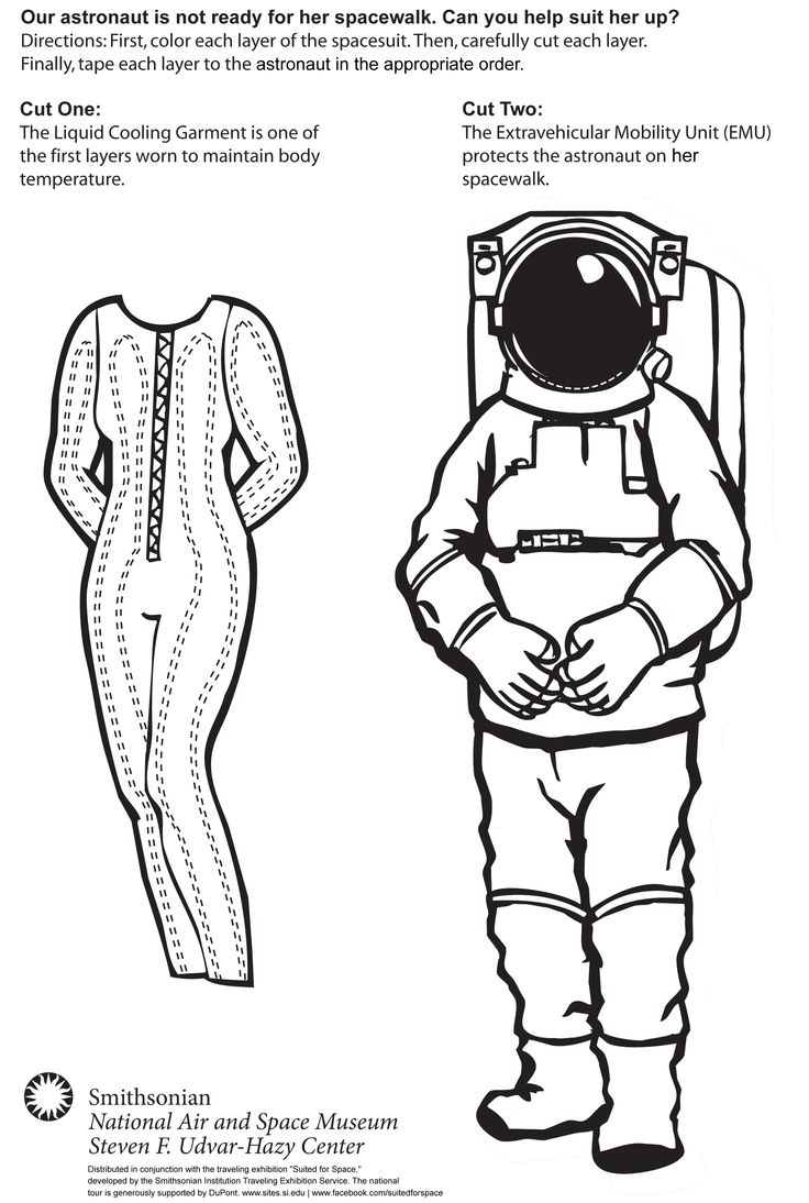 space suit layers diagram - photo #40