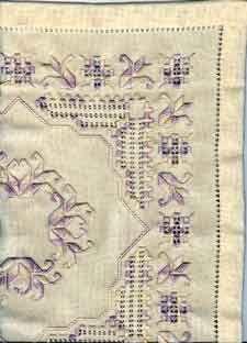 Hardanger..............free pattern