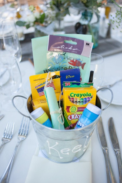 for the kids at your reception