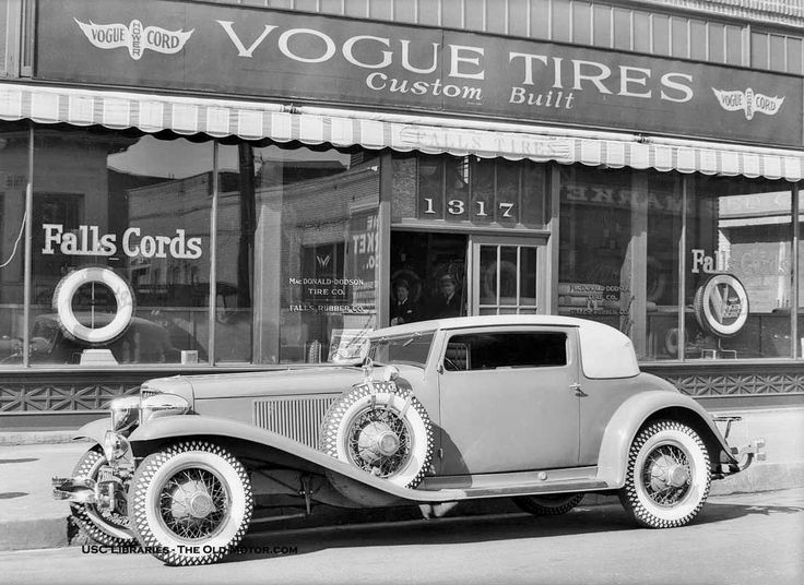 a mystery cord and bandleader paul in los angeles see two fabulous f cordu0027s and learn about the vogue tire