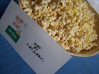 "Hop on ""pop""corn"