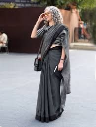 Image result for cotton sari street