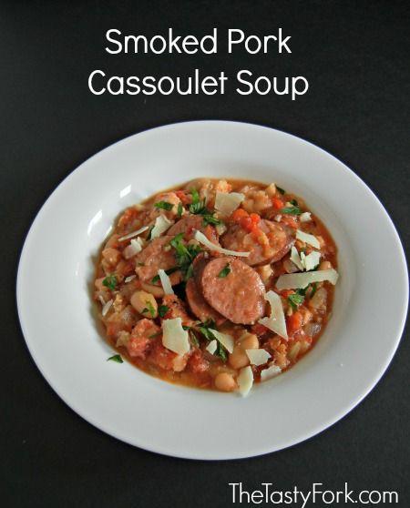 Crock Pot Recipe: Smoked Pork Cassoulet Soup