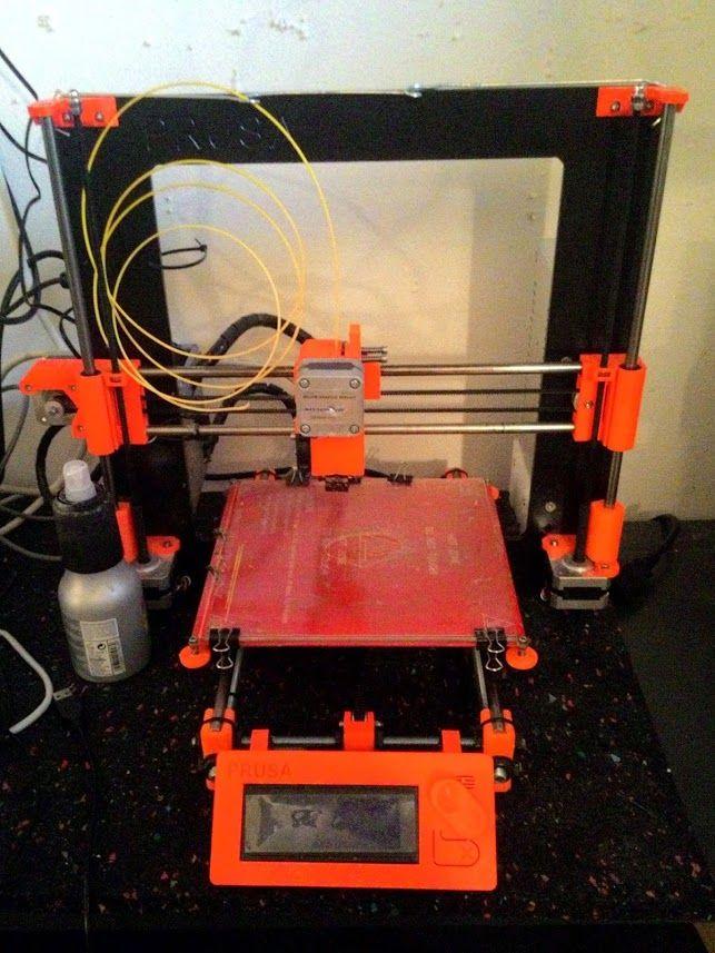 Tiskárna Průša i3 / Průša i3 printer