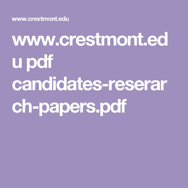33 best images about research paper on Pinterest Essay topics - research paper pdf