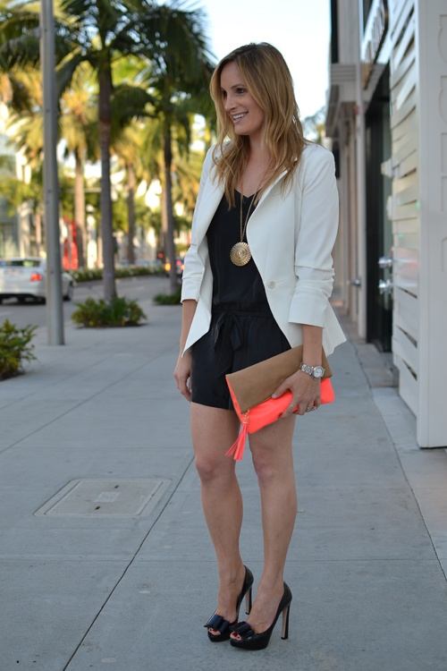 : Fashion, Style, Purse, White Blazer, Romping, Accessories, Casual Glamorous