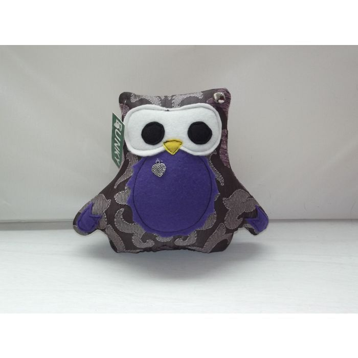 Handmade Purple Soft Owl Small Cushion, Handmade Funky Owl Cushion - Unique Listing in the Pillows & Cushions,Home Décor,Home & Garden Category on eBid United Kingdom | 156765901