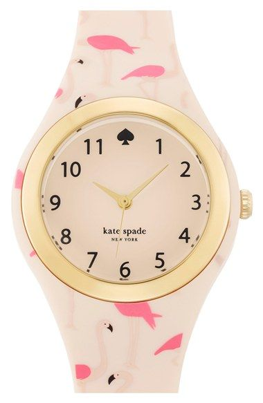 kate+spade+new+york+'rumsey'+plastic+strap+watch,+30mm+available+at+#Nordstrom