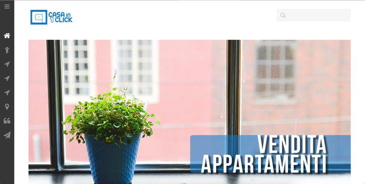 Realizzazione portale immobiliare http://casainunclick.it