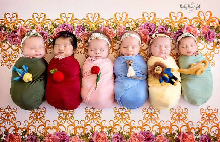 This Mini Disney Princess Photoshoot Of 6 Babies Is Taking Internet By Storm, And It's Just Too Cute
