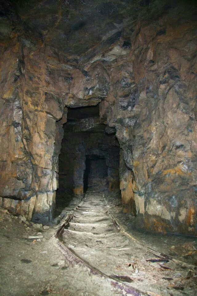 Abandoned mine………..SEVERAL MONTHS AGO, THERE WAS A CAVE-IN, SO IT WAS DECIDED THE WISE THING TO DO WOULD BE TO ABANDON IT COMPLETELY………ccp