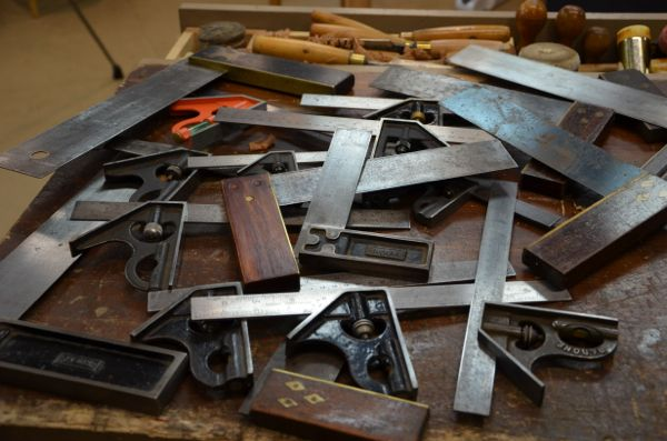 On Woodworking Squares and Working Wood