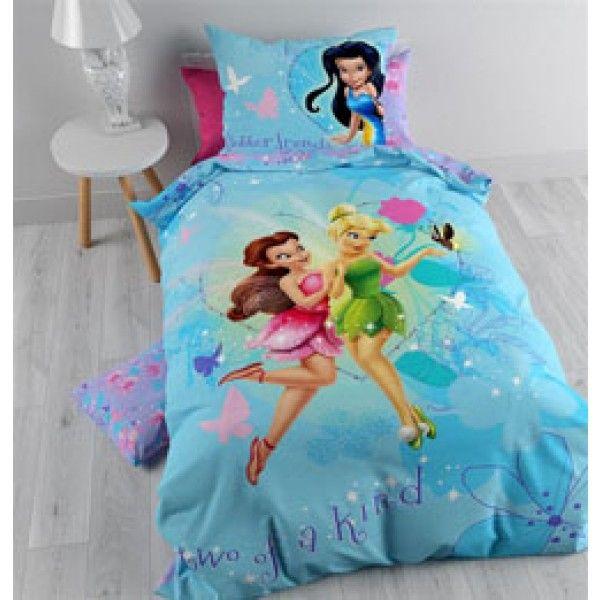Disney sengetøj med feerne Klokkeblomst, Rosetta og Silvermist