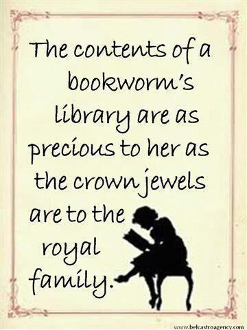 A Bookworm --Amanda Patterson yes