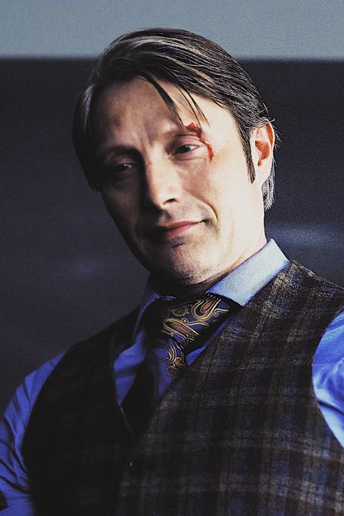 Mads Mikkelsen as Hannibal, Season 2.