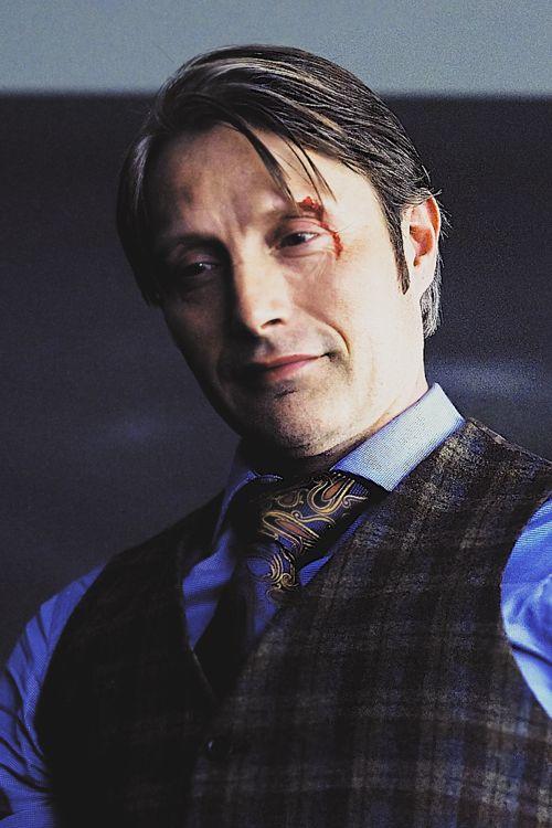 Mads Mikkelsen as Hannibal, Season 2.