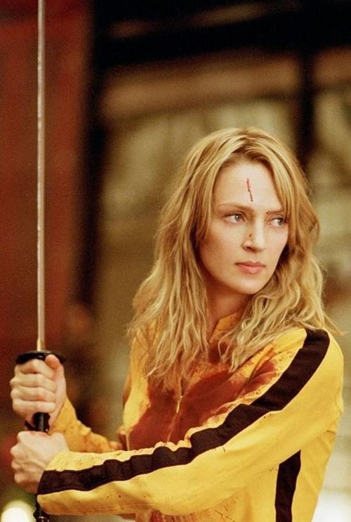Kill Bill. Uma Thurman. These 2 movies both rest in my Top 10 Favorite movies.