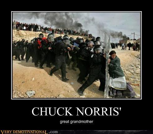 Great Grandma of Chuck Norris